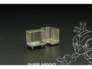 Brengun accessoire diorama avion BRL72085 Racks a bagages 1/72