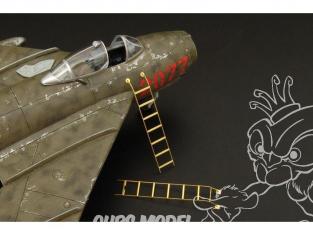 Brengun accessoire diorama avion BRL72077 Escabeaux pour Hunter et Harrier 1/72