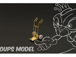Brengun accessoire diorama avion BRL72097 Six diables 1/72