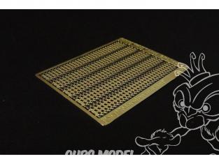 Brengun accessoire diorama BRL144015 Plaques d'acier perforées PSP 1/144