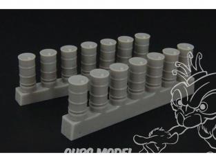 Brengun accessoire diorama BRL144012 Barils de carburant 1/144