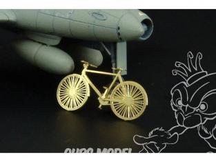 Brengun accessoire diorama BRL144007 kit de vélo 1/144