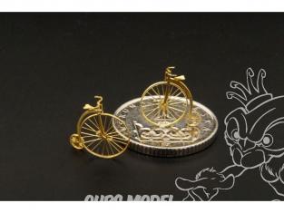 Brengun accessoire diorama BRL144089 kit de vélocipede 2piéces 1/144