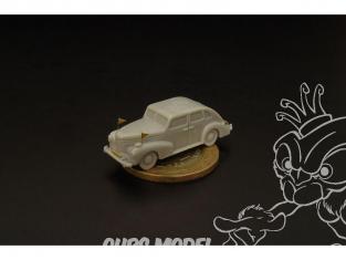 Brengun accessoire diorama BRS144034 German staff car- hardtop (2 in set) 1/144