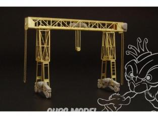 Brengun accessoire diorama BRS144004 kit de grue 16ton allemande WW2 1/144