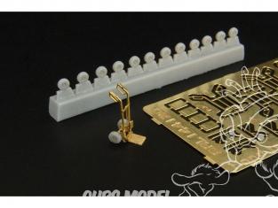 Brengun accessoire diorama BRS144120 Diable (4pcs) 1/144