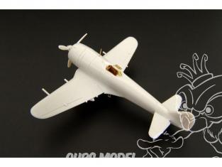 Brengun kit d'amelioration avion BRL144074 Ki-44 Shoki Tojo pour kit Fujimi 1/144