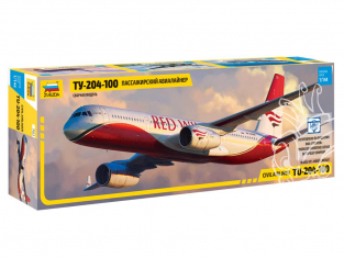 Zvezda maquette avion 7023 Tupolev Tu-204-100 1/144