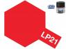 Peinture laque couleur Tamiya LP-21 couleur Rouge italien Brillant 10ml