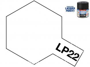 Peinture laque couleur Tamiya LP-22 couleur Base mat 10ml