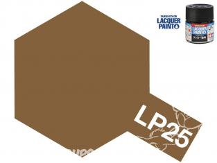 Peinture laque couleur Tamiya LP-25 couleur Marron (forces d'autodéfense terrestres japonaise) 10ml