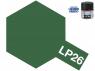 Peinture laque couleur Tamiya LP-26 couleur Vert foncé (forces d'autodéfense terrestres japonaise) 10ml