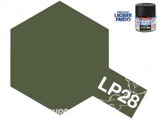 Peinture laque couleur Tamiya LP-28 couleur OLIVE DRAB (forces d'autodéfense terrestres japonaise) 10ml