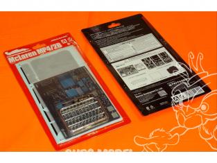 Beemax pour maquette de F1 097991 McLaren MP4/2B Monaco 1985 kit d'ameriloration 1/20