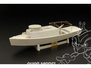 Hauler kit resine HLP72014 BK-2 bateau Sovietique blindé de rivière 1/72