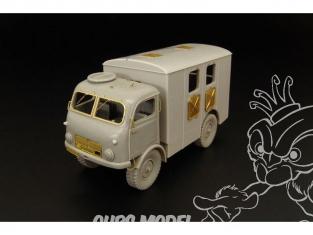 Hauler kit resine HLS48015 TATRA T805 ambulance militaire tchèque 1/48