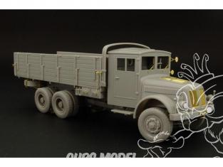 Hauler kit resine HLS48008 Camion allemand TATRA 111 cabine fermée WWII 1/48