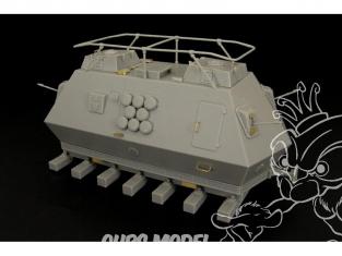Hauler kit resine HLS48013 Draisine Allemande blindée Steyr K2670 WWII 1/48