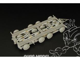 Hauler kit resine HLS48017 Remorque allemande Culemeyer 40ton 1/48