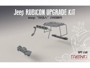 Meng maquette voiture SPS-054 Set d'accessoire pour Jeep Wragler 1/24