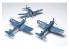 AFV maquette avion AR14406 VOUGHT F4U-1/1A/1C/1D (2 kits par boite) 1/144
