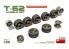 Mini Art maquette accessoires militaire 37060 Set de roues pour char T-62 1/35