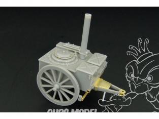 Brengun accessoire diorama militaire HLX48206 Cuisine de campagne allemande WWII 1/48