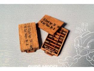 Hauler Arme HLU35070 30 Grenades a main Allemande stielhgr.24 avec caisse 2sets 1/35