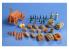 Hauler Accessoire diorama HLU35091 Provisions de bouche militaire en resine 1/35