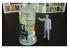 Hauler accessoire diorama militaire HLF48003 figurine en résine avec colonne d'affiche 1/48