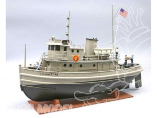 Dumas bateau Bois 1256 U.S. ARMY TUG ST-74 1/48