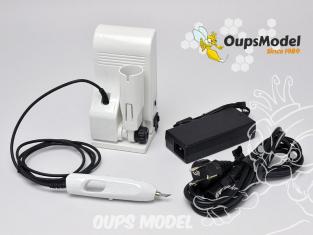 Oups ZO-91 Cutter à Ultrasons - Station de coupe avec 40 lames