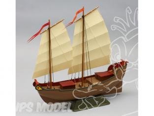 Dumas Kit bateau bois 1010 JONQUE CHINOISE
