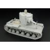Hauler kit d'amelioration HLX48188 KV-2 Early pour maquette Hobby Boss 1/48