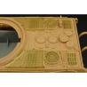 Hauler kit de conversion HLX48170 King Tiger tourelle Porsche grilles pour kit tamiya 1/48