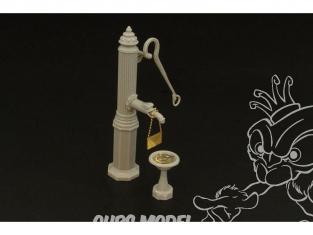 Hauler accessoire diorama militaire HLF48013 Pompe à eau de ville 1/48