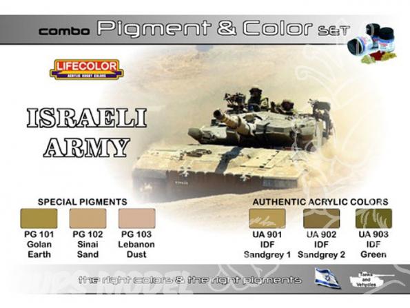 LIFECOLOR peinture SPG01 TEINTES & PIGMENTS ISRAEL