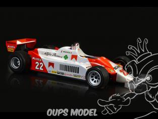 Italeri maquette voiture 4704 Alfa Romeo 179 - 179C 1/12