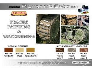 LIFECOLOR peinture SPG02 TEINTES & PIGMENTS CHENILLES