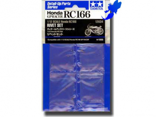 Tamiya maquette 12634 Set rivets RC166 1/12