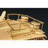 Hauler kit d'amelioration HLX48106 CADRE DE RANGEMENT Stug III Ausf.G pour kit tamiya 1/48