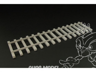Hauler Accessoires diorama HL48305 Rails de train 1/48