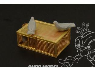 Hauler figurine HLX48311 Pigeons de guerre U.S. 1/48