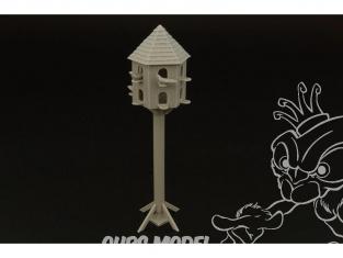 Hauler accessoire diorama HLF48012 Pigeonnier en resine 1/48
