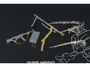 Hauler armes HLX48080 set pour armes de panzer grenadiers allemand pour kit Tamiya 1/48