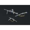 Hauler armes HLX48079 set pour armes de D'infanterie Britanique pour kit Tamiya 1/48