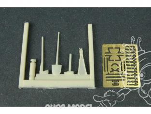 Hauler accessoire diorama HLF48023 Outils pour char Allemand 1/48