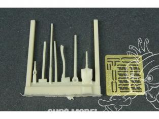 Hauler accessoire diorama HLF48022 Outils pour char U.S. 1/48