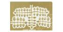 Hauler accessoire diorama HLF48040 feuillage de tilleul 1/48