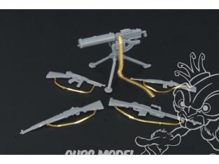 Hauler armes HLX48081 set pour armes de D'infanterie U.S. pour kit Tamiya 1/48